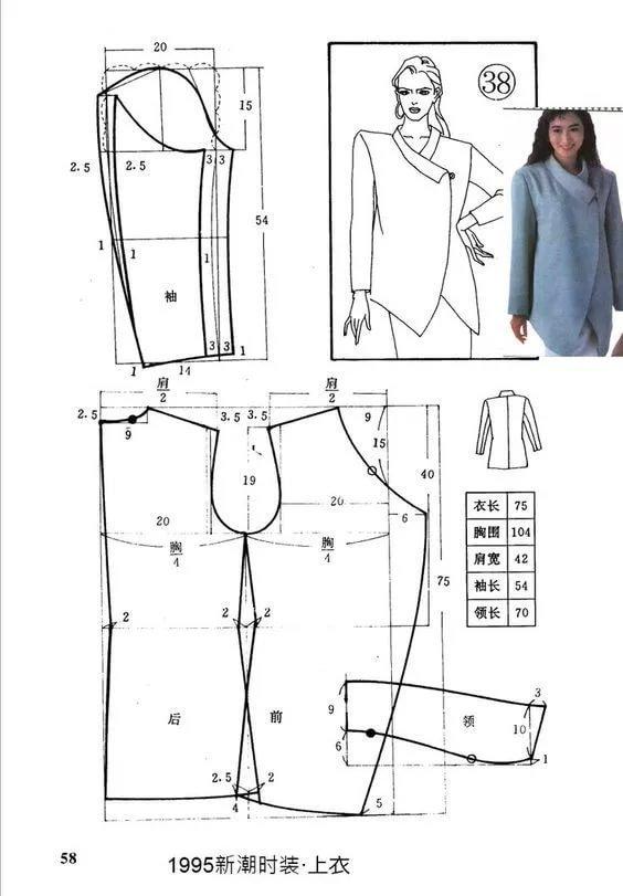 Сшить пальто своими руками без выкройки для женщины 7