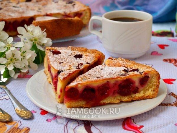 Сладкие заливные пироги рецепты с фото