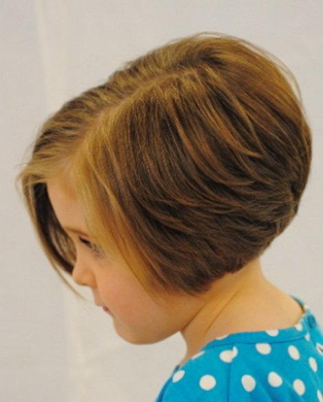 Короткие прически для коротких волосы девочке