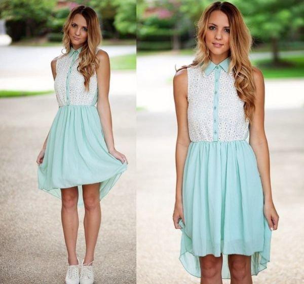Платья на лето для девушек