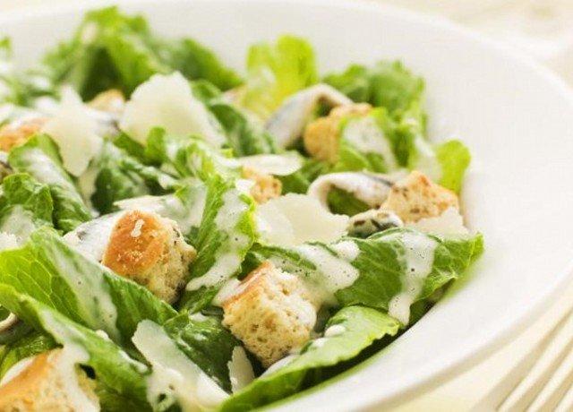 Соус салат цезарь с курицей в домашних условиях рецепт с