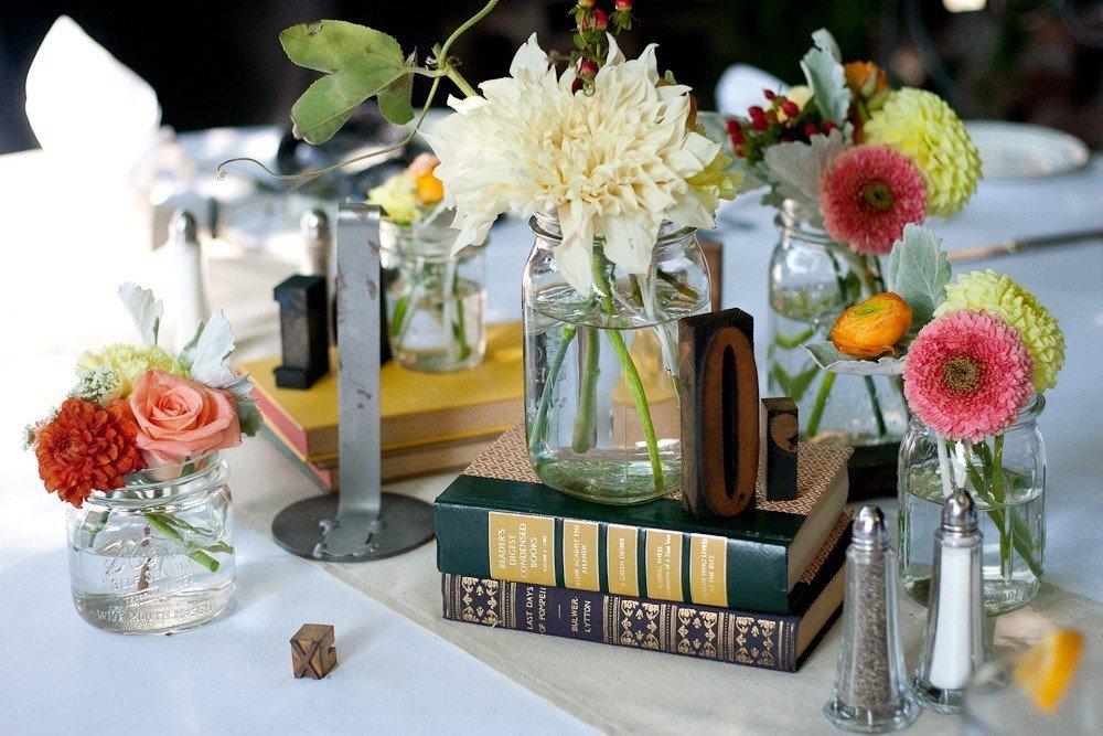 Декор столов на свадьбу своими руками 94