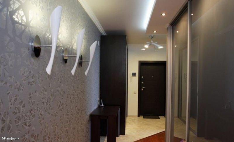Дизайн коридора в квартире панелями