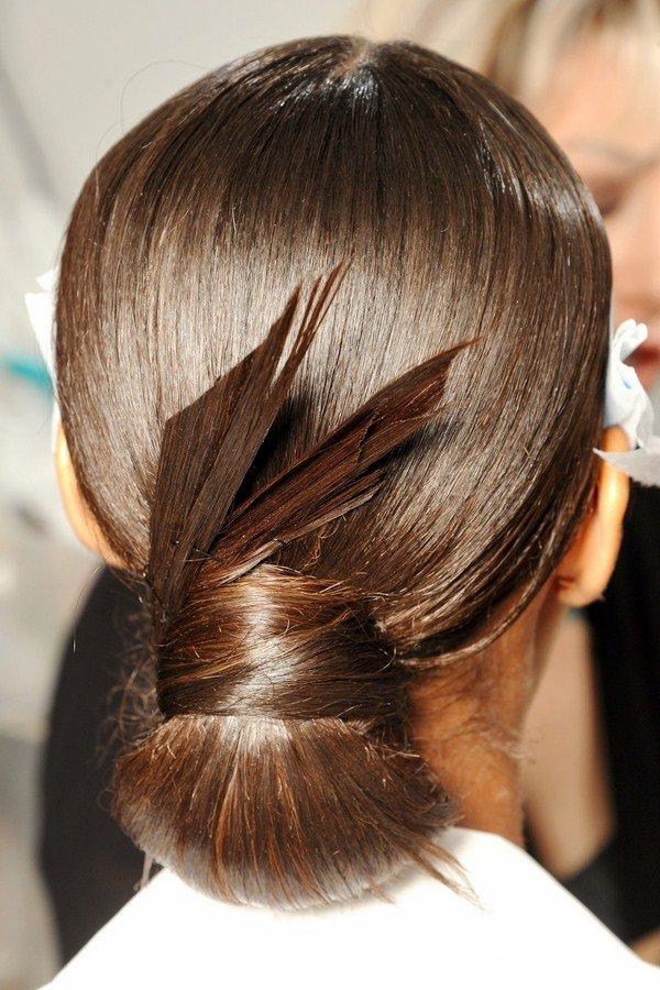 Как сделать причёску гладкой
