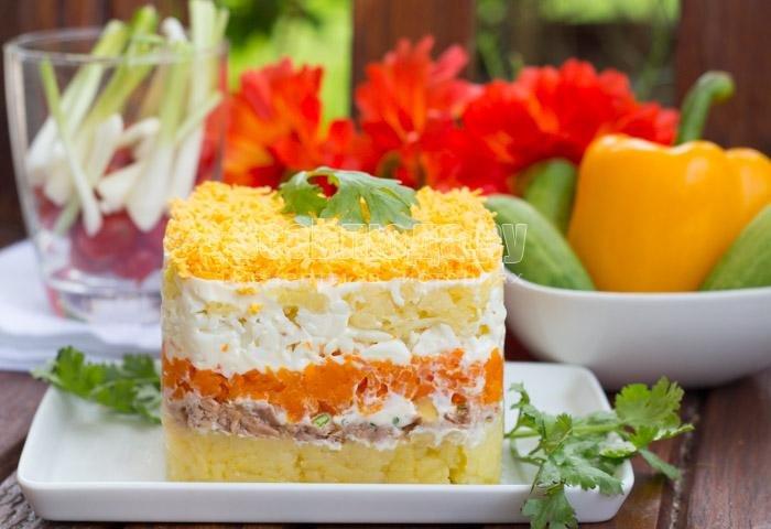 Мимоза салат классический рецепт