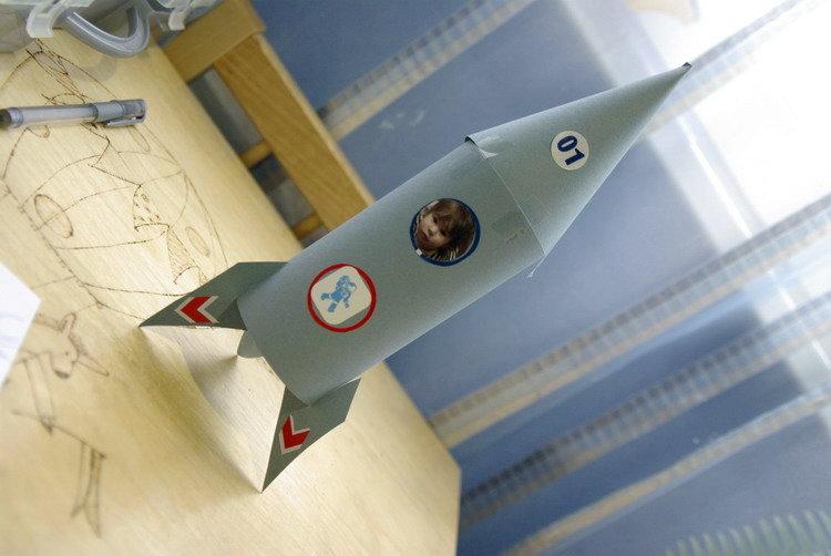 Ракета из подручного материала своими руками 288