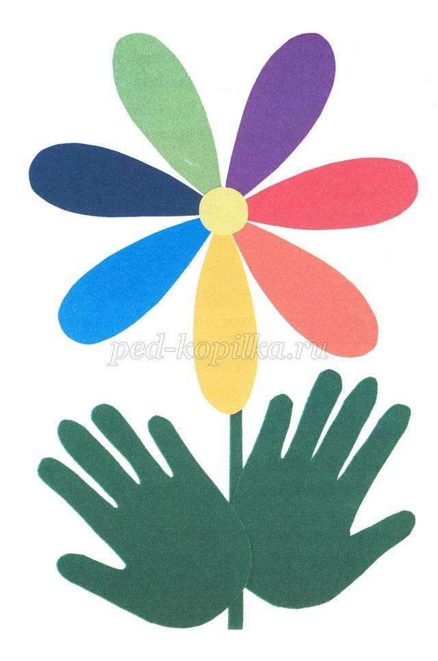 Поделка из цветной бумаги своими руками для детей 5 лет 98