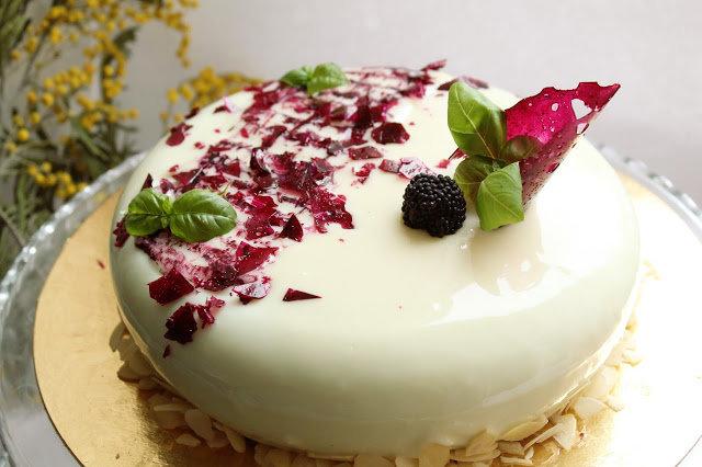 Муссовое пирожное с зеркальной глазурью рецепт с пошагово