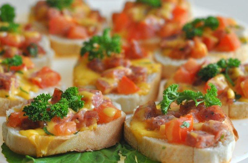 Бутерброды на скорую руку в духовке рецепт