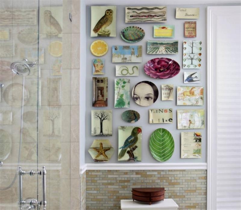 Дизайн ванной своими руками из подручных 98