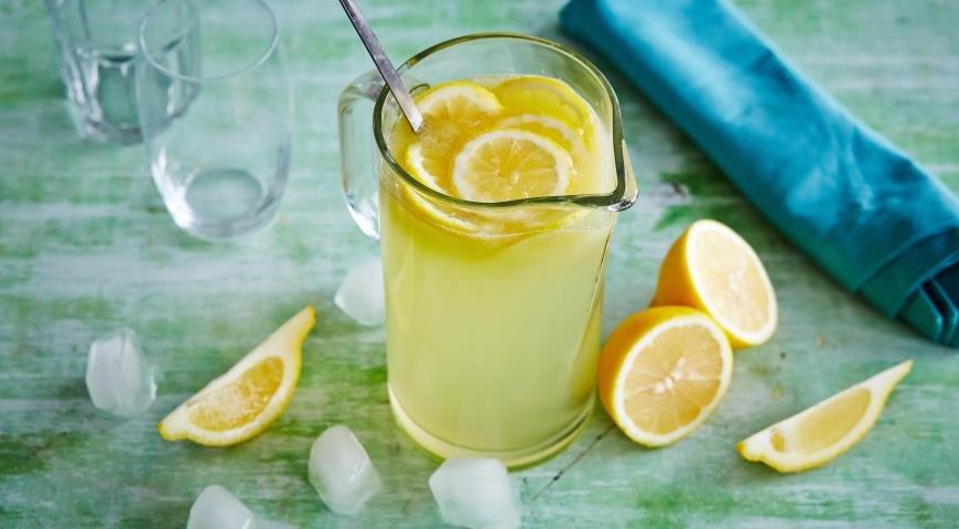 Как сделать из лимона освежающий напиток 482