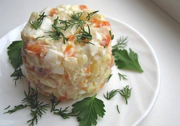 Простые салаты с курицей на скорую руку рецепты с