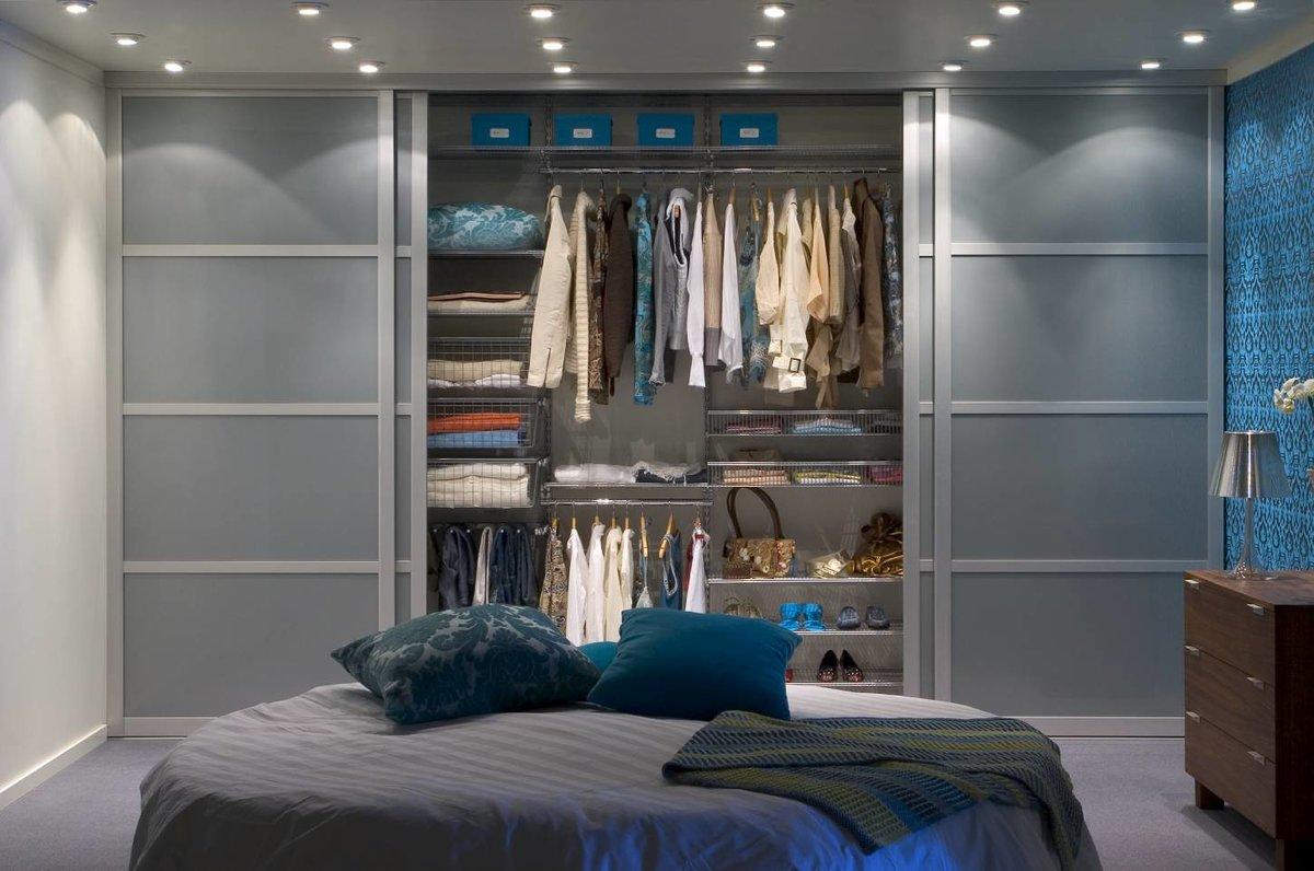 Шкаф в спальне своими руками 89