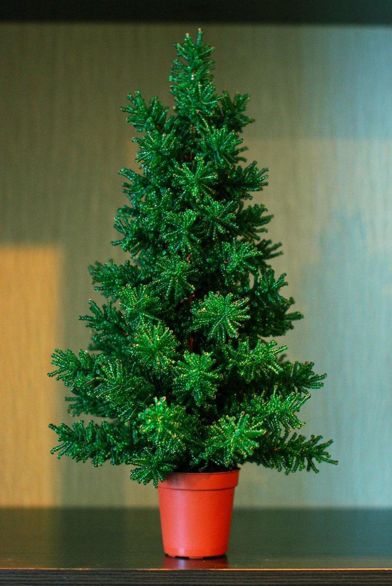 Большая елка из бисера мастер класс с пошаговым фото