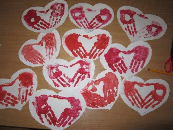 14 февраля поделки своими руками для детского сада