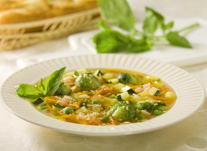 Вегетарианские супы пошаговые
