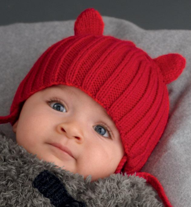 Вязание для детей до года шапочки девочка 814