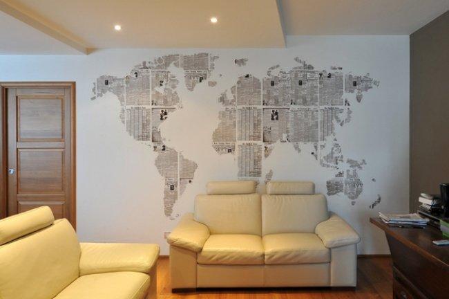 Дизайн своими руками стен фото 915