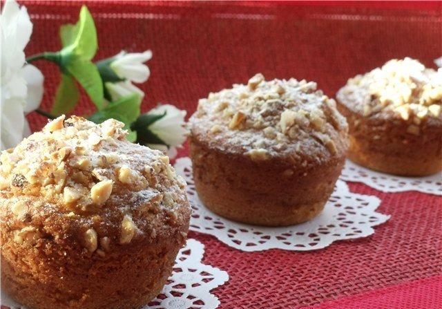 Кекс с орехами простой рецепт с пошагово