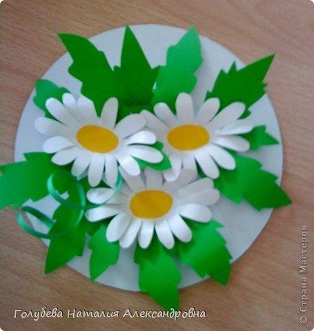 Аппликации цветы из бумаги своими руками