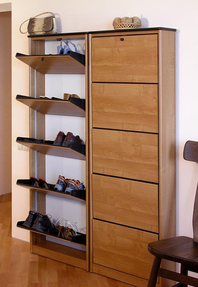 Шкаф для обуви узкий своими руками