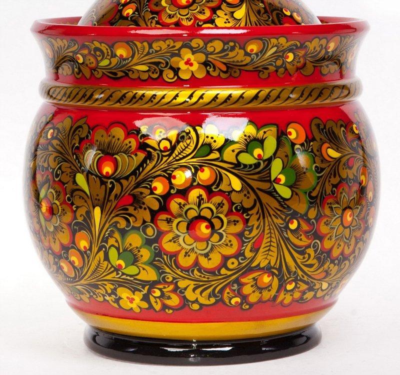 Роспись деревянной посуды