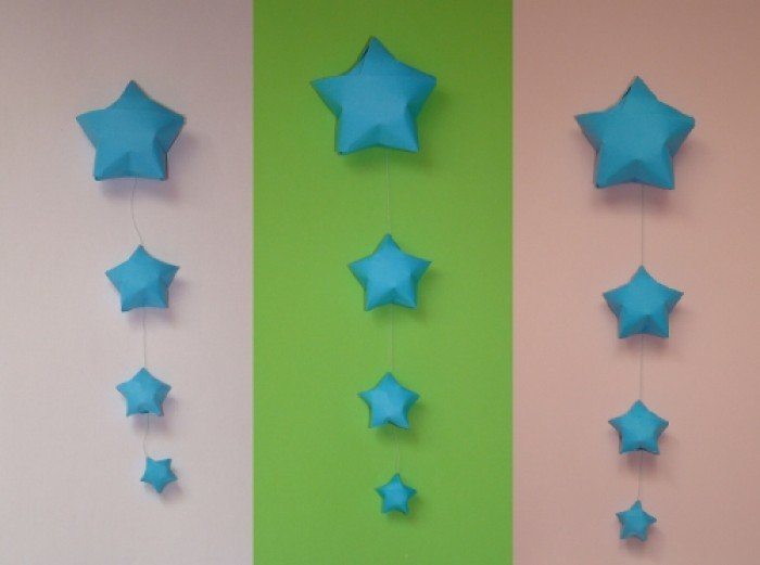Оригами звездочки своими руками