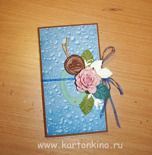 Шоколадница-открытка своими руками