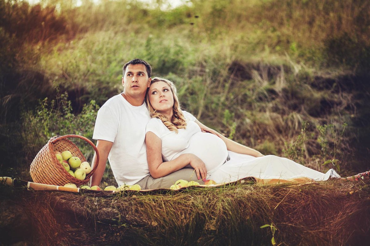 Идеи фотосессий для беременных на природе летом фото