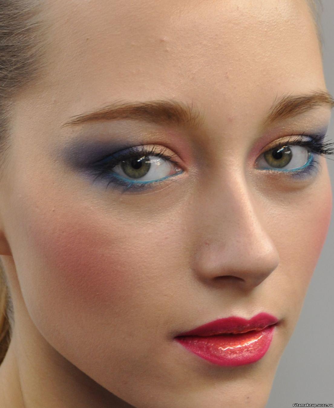 Варианты дневной макияж