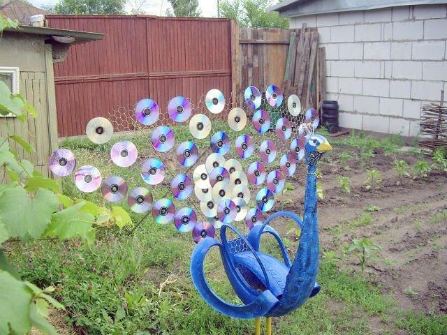 Поделки и украшения для сада