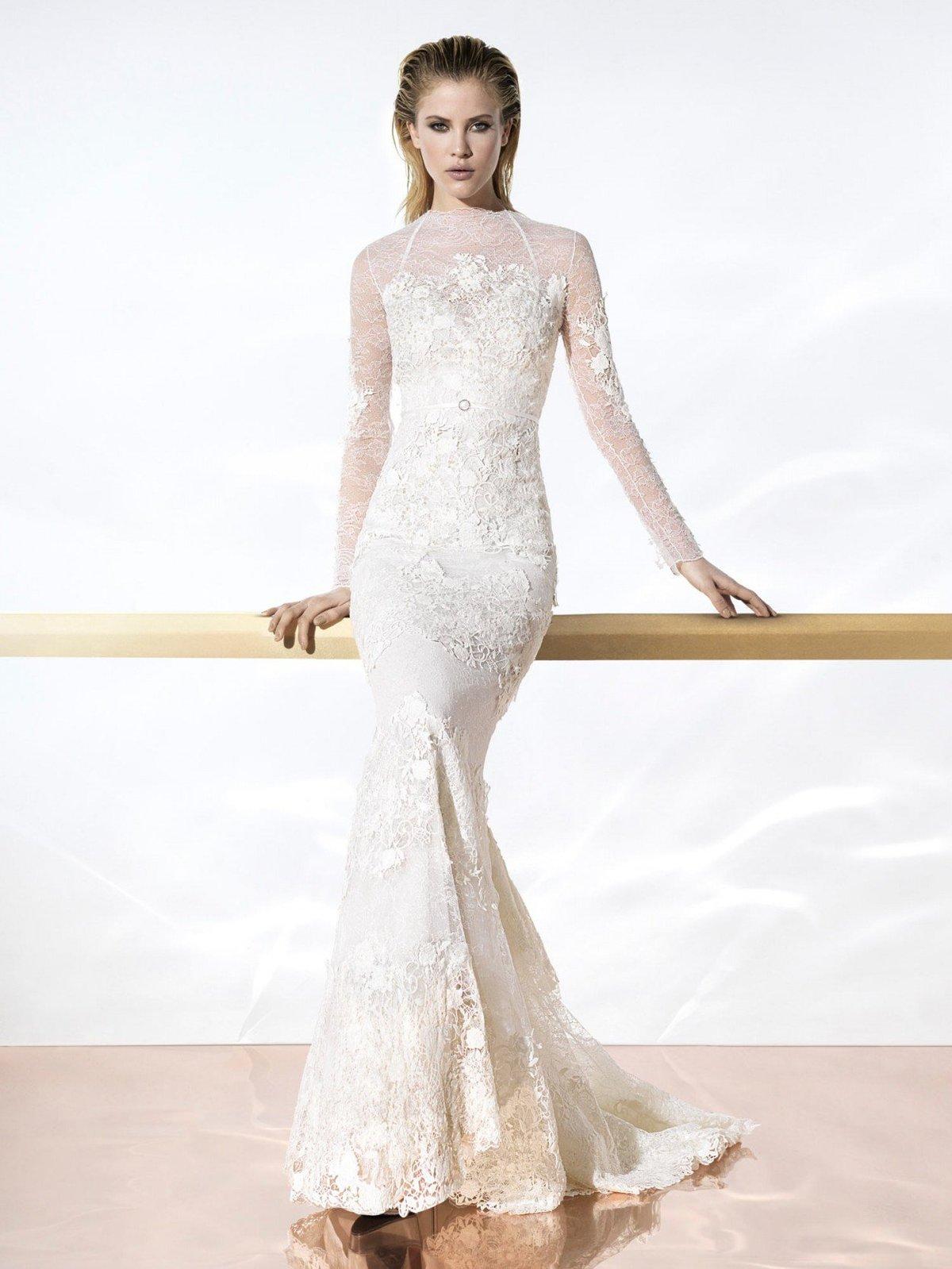 Свадебные платья слишком открытые