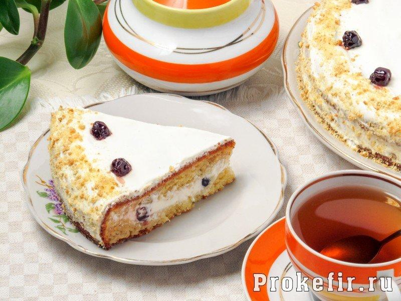Торт сметанник классический пошаговый рецепт с на