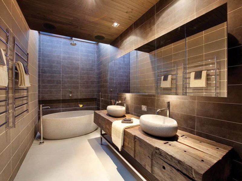 Интерьеры маленьких ванн в современном стиле фото