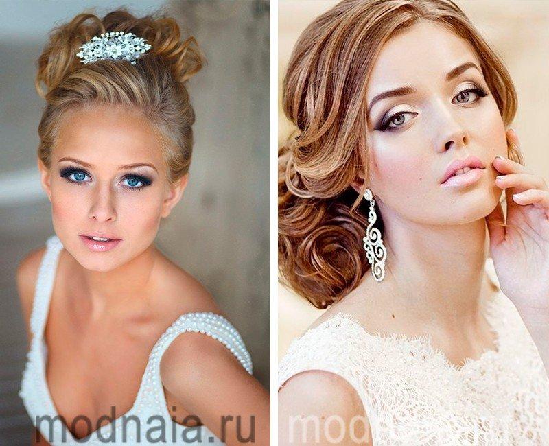 Как самой сделать свадебный макияж с фото