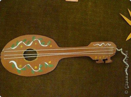 Поделки музыкальные инструменты
