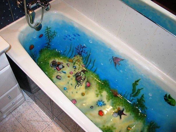 Правильный декор в ванной