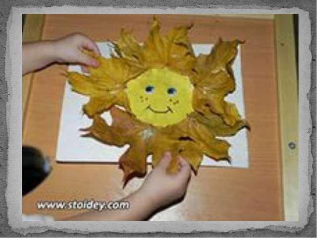 Поделки для детей на тему осень фото