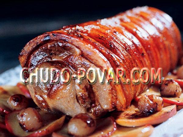 Рулет из свинины в духовке рецепты с пошагово