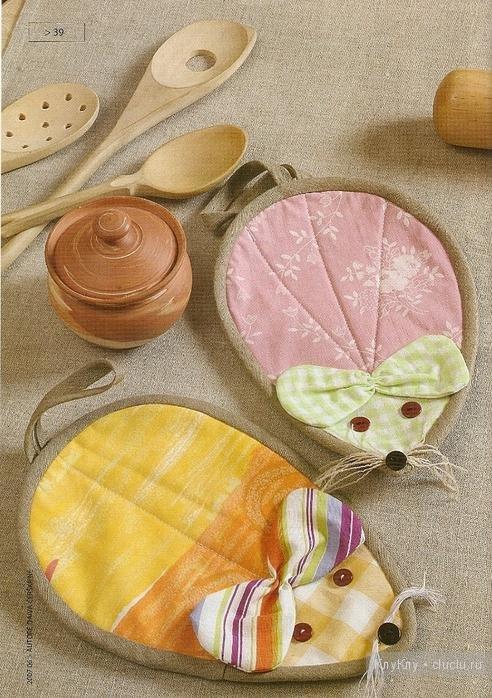 Прихватки поделки для кухни