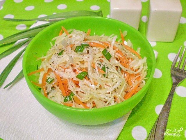 Вкусные диетические салаты из капусты