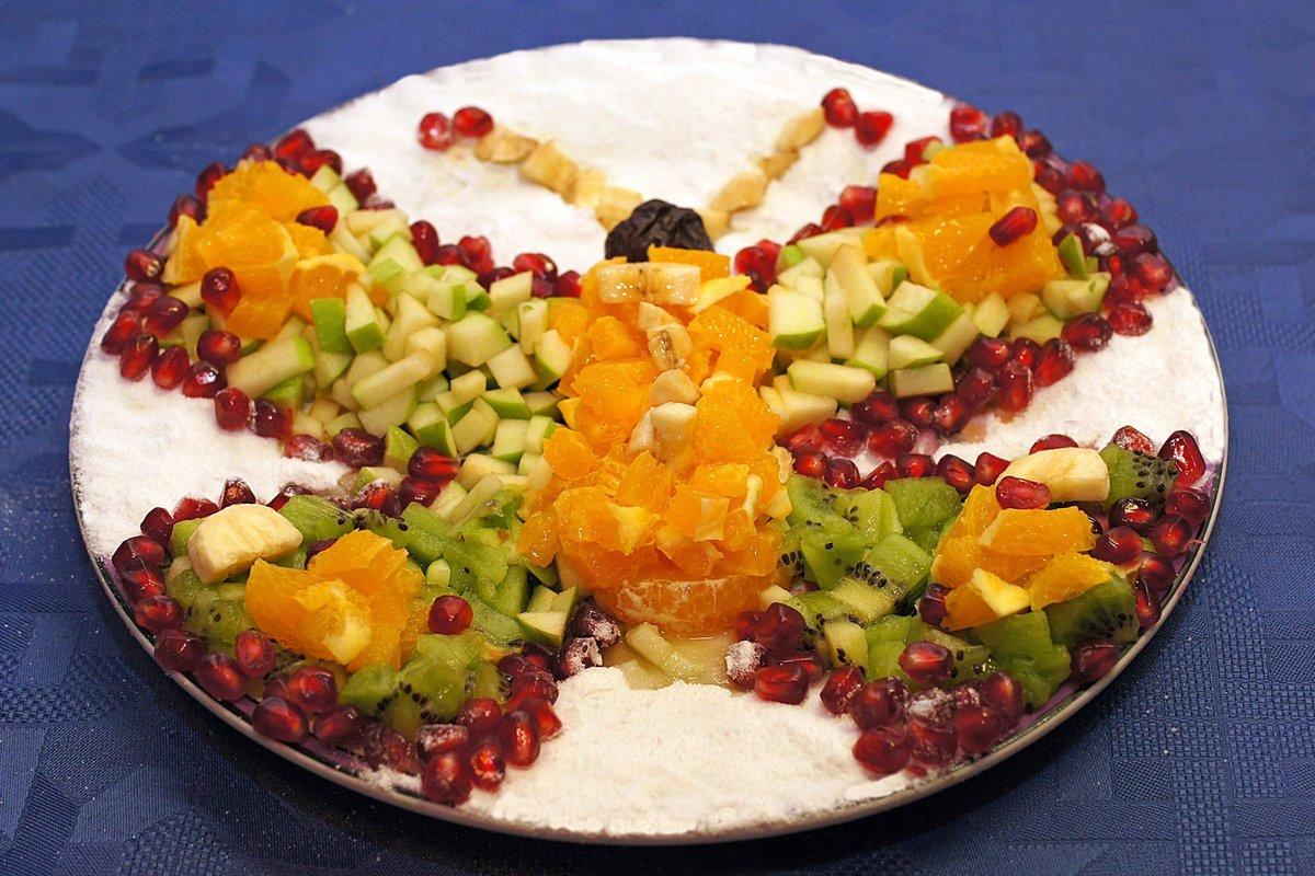 Fruit salad decoration photos Watermelon bunting ( template) / 3D fruit! Minieco