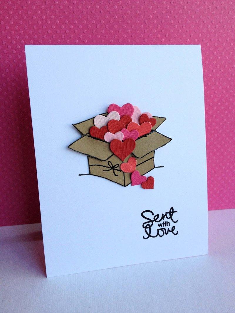 Любовь открытка своими руками