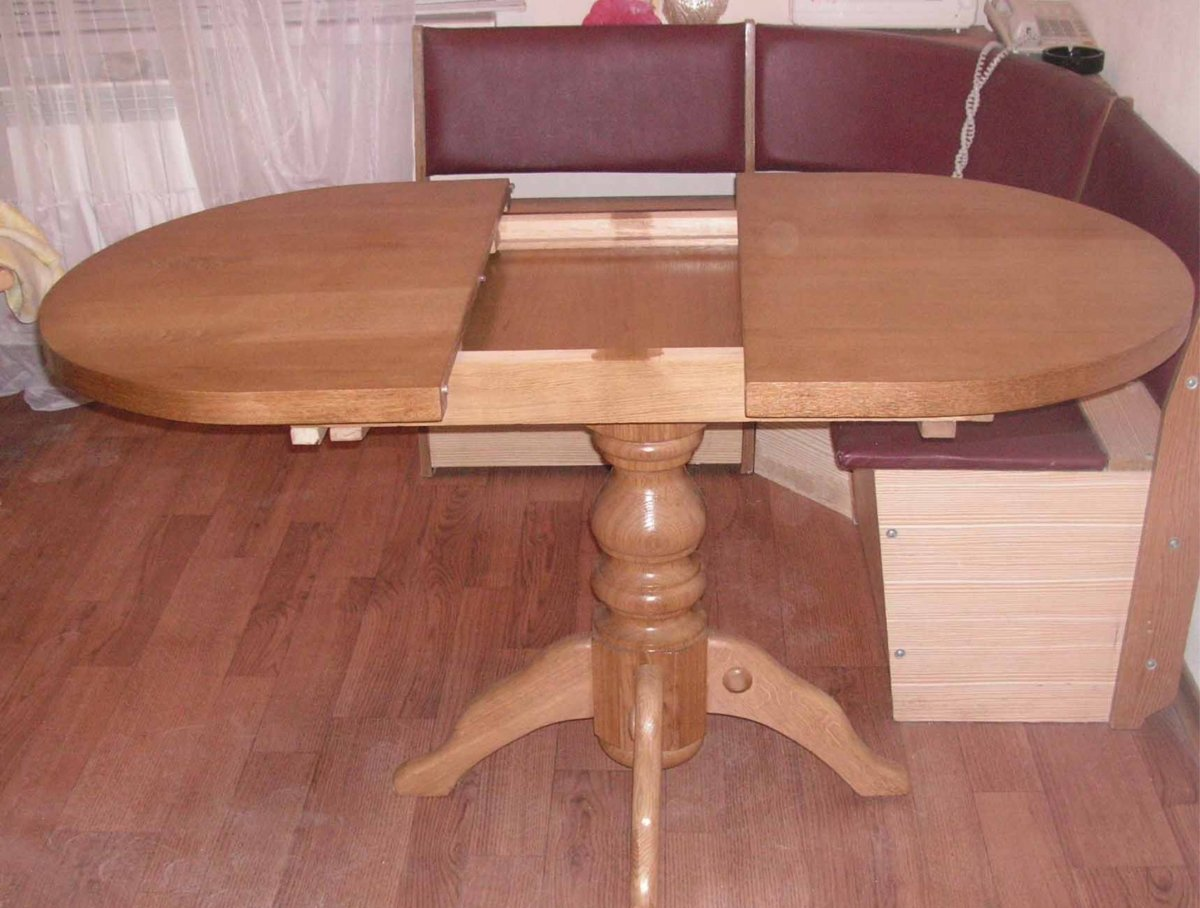 Деревянный стол для кухни своими руками фото 46