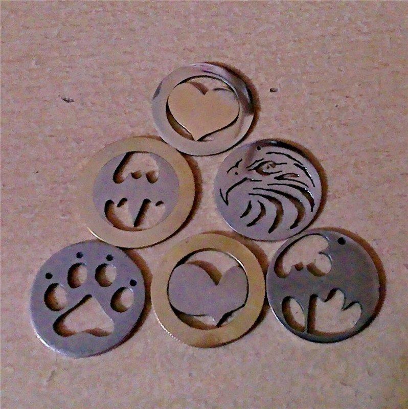 Брелок своими руками из монеты 16