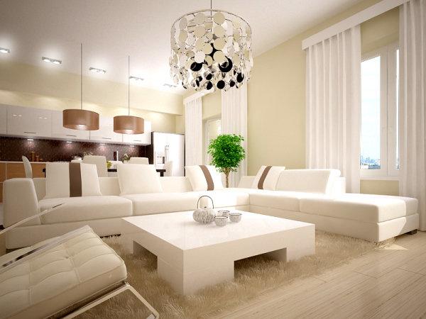 Интерьер квартиры в светлых тонах фото в современном стиле хрущевок