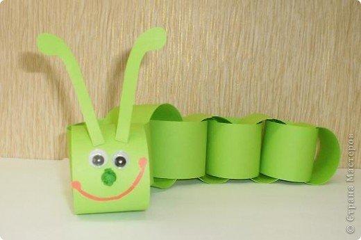 Конструирование из бумажных полосок поделки из бумажных полосок 4
