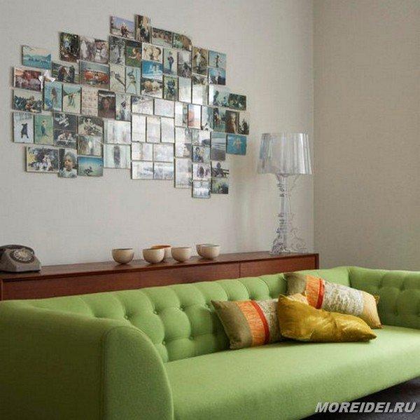 Что можно повесить на стену в комнате своими руками