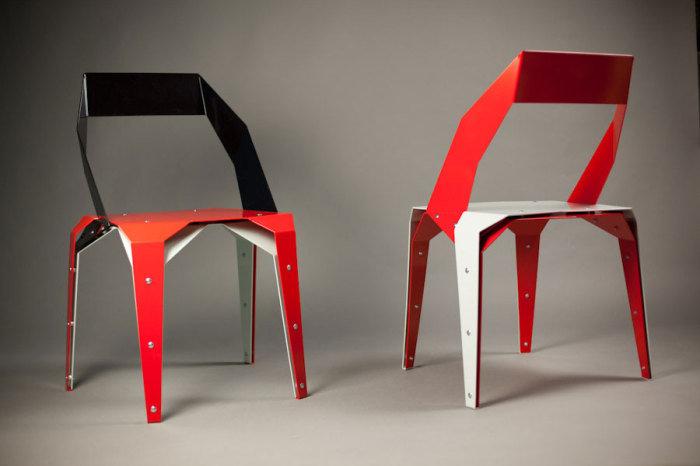 Как с бумаги сделать стулья