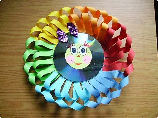 Поделки из диска своими руками для детей 96